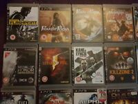 Ps 3 games . All good condition