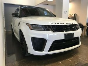 2019 Land Rover Range Rover Sport SVR NEUF!! ROUES 21, 575HP!! W