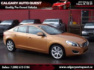 2012 Volvo S60 T6 AWD / LEATHER / SUNROOF