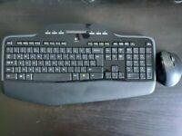 Logitech MK710 Performance Keyboard And Mouse Wireless