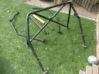 Fiesta mk2 - full roll cage - good condition