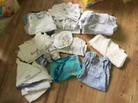 Upto 1 month baby boy mixed clothes