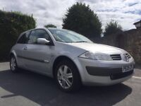 2005 1.4 litre RENAULT MEGANE WITH 12 MONTHS MOT LOVELY CAR THROUGH OUT!!