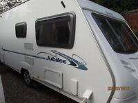 2008 ACE JUBILEE AMBASSADOR 2 BERTH WITH MOTOR MOVER AND FULL AWNING