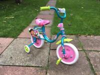 Childrens / Kids Dora the Explorer Bike