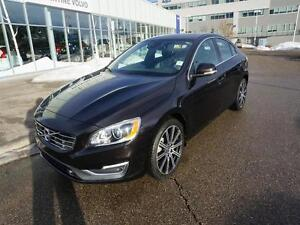 2015 Volvo S60 T6 AWD with Certified Pre-Owned Warranty!