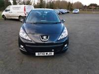 Peugeot 207 verve HDI 1.6L Diesel 5DR 2010 1 year mot Full service history excellent condition