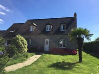 FRANCE in NORMANDY, BEAUTIFUL COTTAGE in the COTENTIN, close to the beach, 8 people, 4 bedrooms