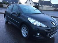 2010 Peugeot 207 1.4 Millesim 200 Special Edition. Bluetooth, 1 Year MOT, Service History