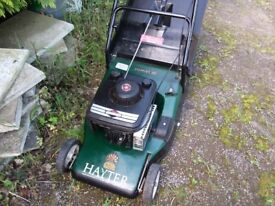Hayter 48 Self-Propelled Petrol Rotary Lawnmower