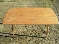 Ercol vintage plank table