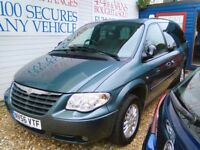 2006 voyager 2796 cc diesel automatic seven seater full MOT full service history 116.000 miles