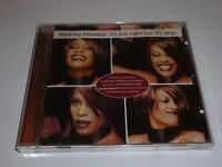 CD WHITNEY HOUSTON IT'S NOT RIGHT BUT IT'S OKAY (476)