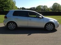 vw golf 2.0 gt tdi 5 door,silver,69,000 miles with full service history,lovely car.drives superb.