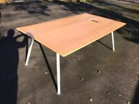 Large conference table desk