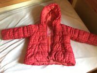 Next winter coat, age 3-4 years girls