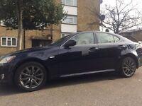 Loverly Lexus iss 220d Blue, 1 Years MOT Grey Leather interior Alloy Wheels