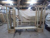 Pergola bench