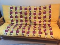 Original Futon company double futon / sofa bed good condition - Thatcham/Newbury