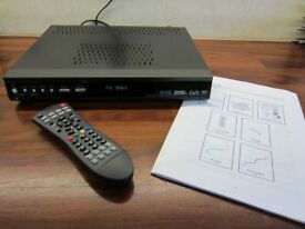 Logik Freeview+ PVR Hard Disk Recorder - twin tuner
