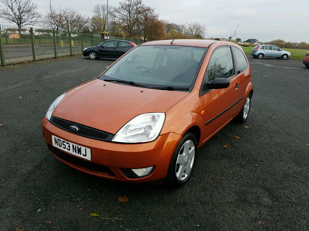 Ford Fiesta Zetec TDCi 1.4 diesel manual in mint condition