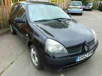 2002 52 RENAULT CLIO 1.2 16V - NO MOT, 94K MILES, CLIO 172 SEATS, PX TO CLEAR!!.