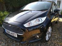 Ford Fiesta 1.0 EcoBoost Titanium (s/s) 5dr, low mileage, one lady owner, excellent condition