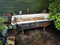 ANTIQUE BATH NEEDS REFURBISHED FREE