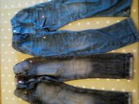 2 pairs boys next jeans age 7