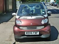 Immaculate low mileage Smart For AUTOMATIC car burgundy /silver metallic for sale £1700
