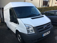 Ford Transit Semi High Roof. Very low mileage. Ideal Camper Conversion.