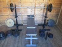 Home gym weights - 200+kg