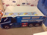 Gorgeous Police Truck bed