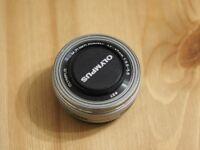 Olympus micro four thirds (4/3) 14-42 mm f 3.5-5.6 lens