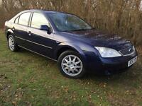 DIESEL - 2002 FORD MONDEO - MOT FAILURE - SPARES OR REPAIRS