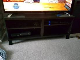 Black ikia tv unit