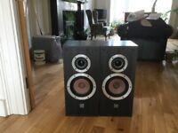 Wharfedale E200i speakers (pair)