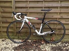 Cinelli Experience road bike 51cm frame with carbon forks