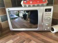 Mirrored front microwave only £20