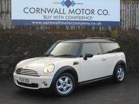 MINI CLUBMAN 1.6 COOPER 5d 122 BHP RECENT SERVICE + NEW MOT (white) 2010