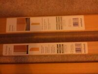 Architrave and skirting. Oak veneer MDF from B & Q