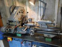 myford super 7 metal working lathe