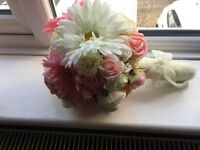 Wedding Bouquet and Buttonhole