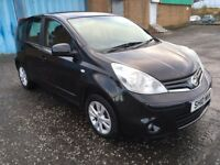 2010 Nissan NOTE 1.4 , mot - May 2018 , full service history , 2 owners ,scenic,astra,focus,civic,