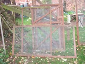 VARIOUS WIRE MESH FENCE PANELS, ~ CHICKEN RUNS ETC