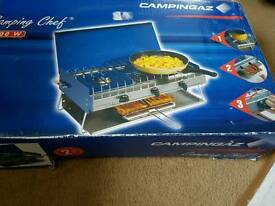 Camping chef gas stove
