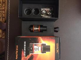 SMOK TFV8 big baby beast all parts as in original packaging