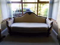 Antique sofa perfect condition genuine reason for selling