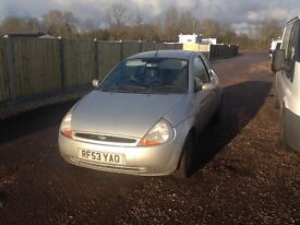 2003 ford ka petrol hatchback tidy car driving good mot until February 2017 £225
