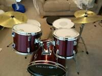 Dragon 5 Piece Drum Kit